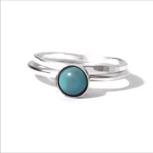 ✨925 Turquoise Stacking Ring Set✨